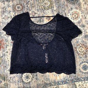 NWT Victoria's Secret lace shirt